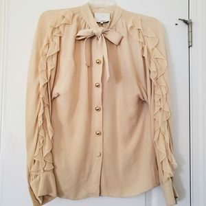 3.1 Phillip Lim silk pussybow blouse 8